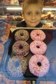 Donuts! Just like at home!