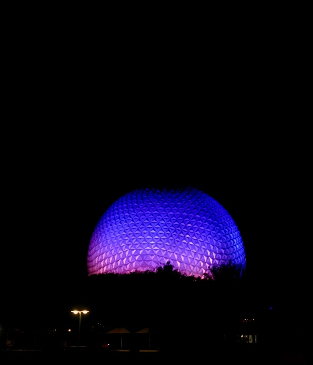 Epcot centre. Because we were there