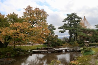 Bridge with Autumn colors