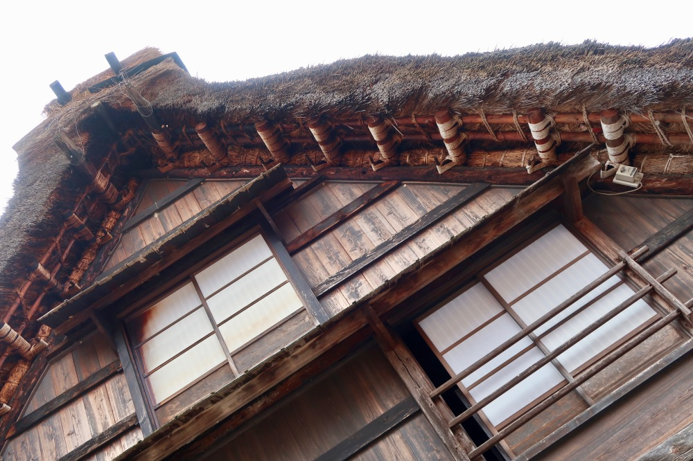 Detail of the roof exterior