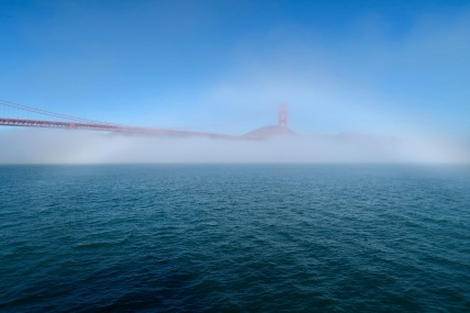 Golden Gate with Cloud Bow