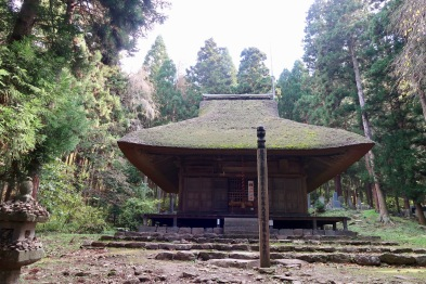Joko-ji temple. This was situated in a beautiful wood.