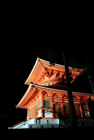 Kyoasan night temple