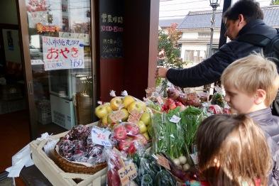Fresh farm produce for sale.