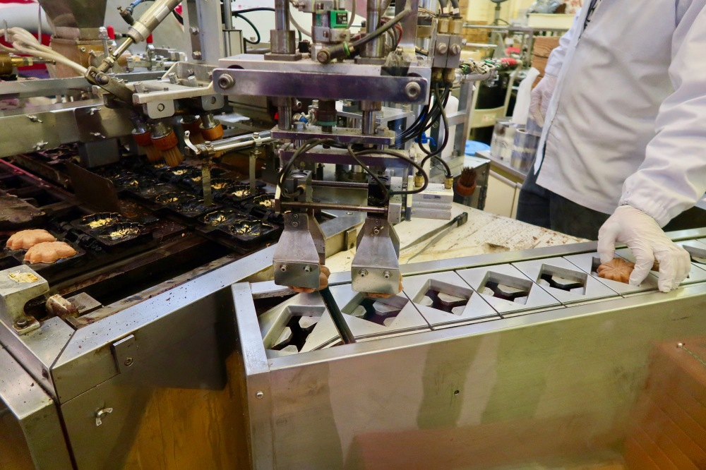 Production process can be viewed from the shop window