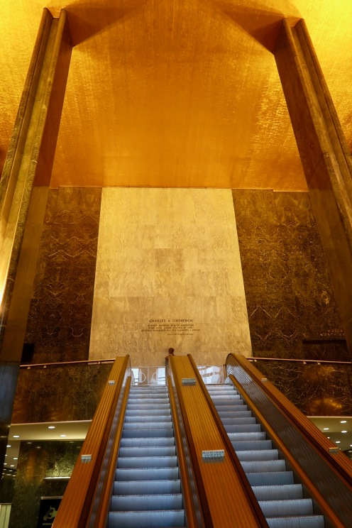 They knew how to do escalators in the Art Deco age. This beauty is in The Rock.