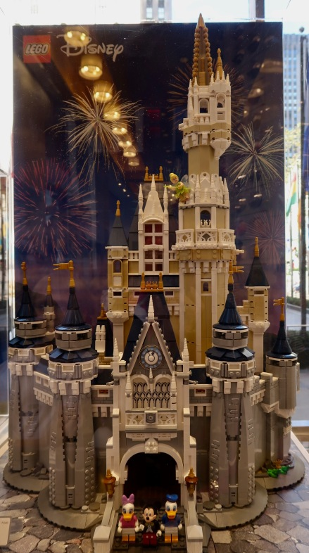 Presented at the Lego shop. This is the size castle I will clean.