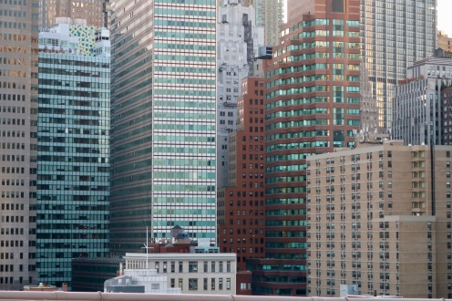 View from Brooklyn Bridge.