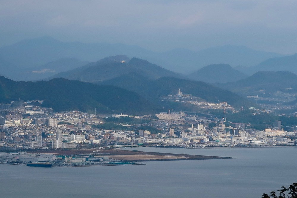 View of Hiroshima from