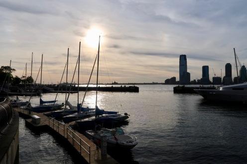 Waterfront, south west Manhattan.